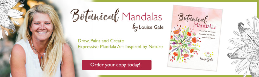 Botanical Mandalas Book order your copy